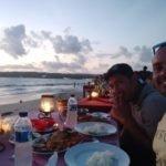 Sea food at Jimbaran Beach