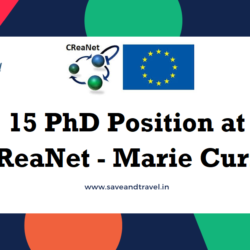 PhD Postion at Creanet