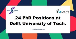 Delft University of Technology PhD Vacancies