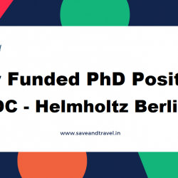 Fully Funded PhD Position MDC Berlin