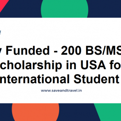 Scholarship in USA for International Students