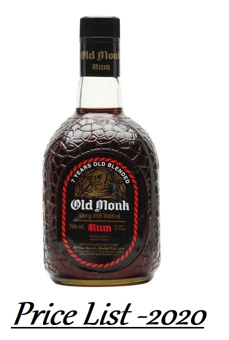 Old Monk Rum Price