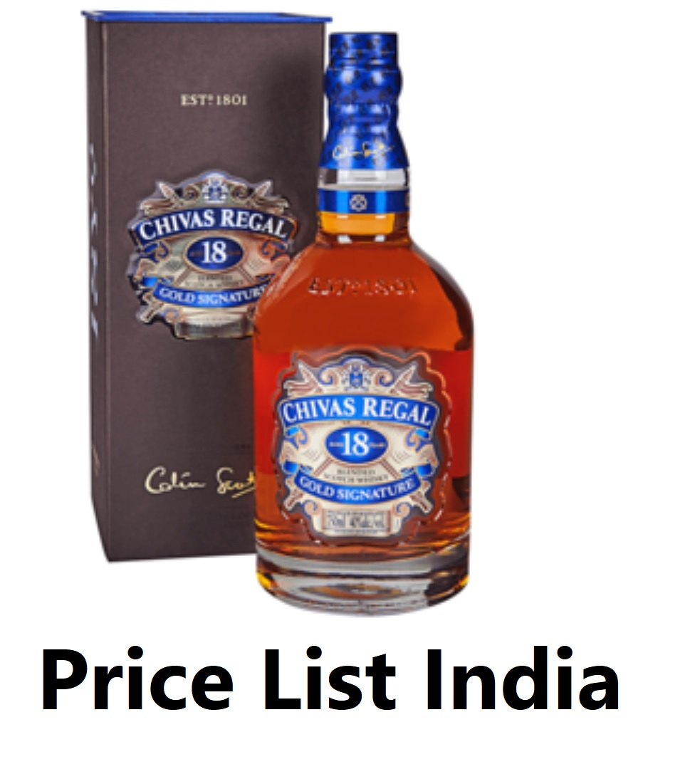 Chivas Regal Price India