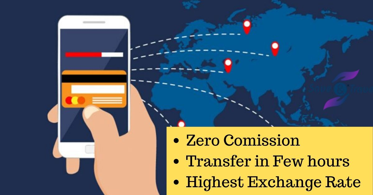 Zero comission money transfer