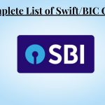 SWIFT Code for SBI