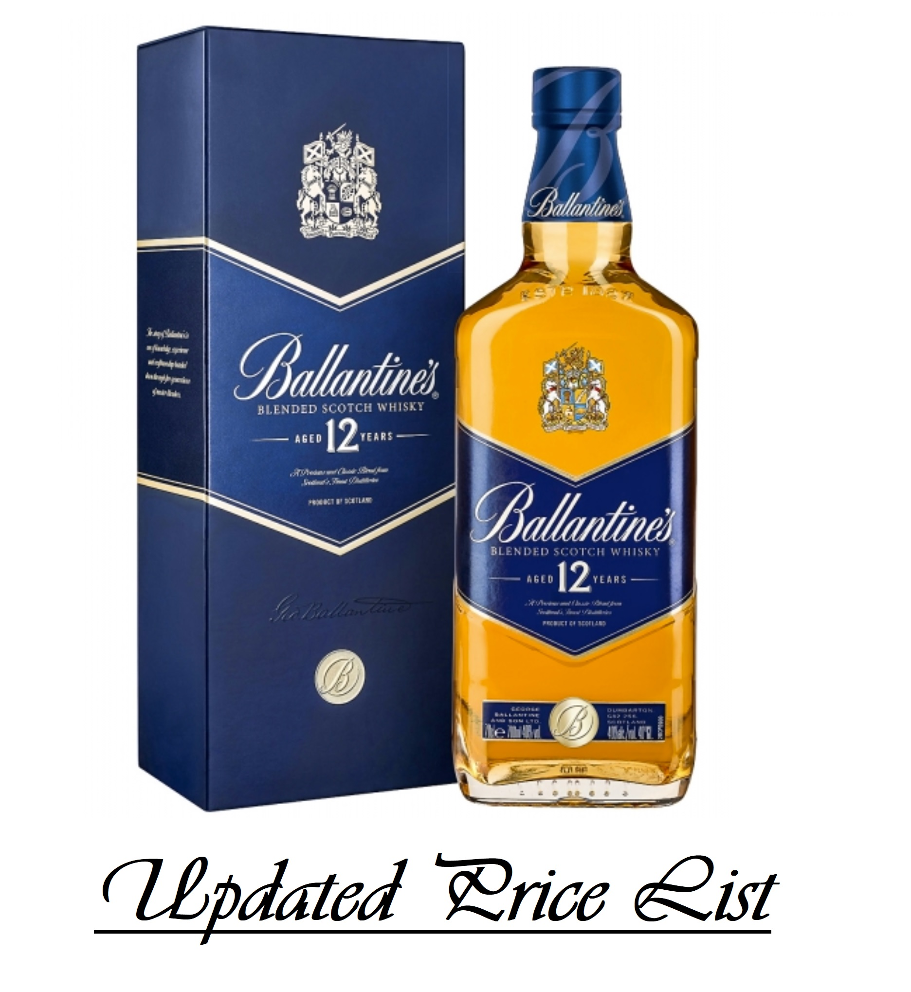 Ballantines Whisky Price in India