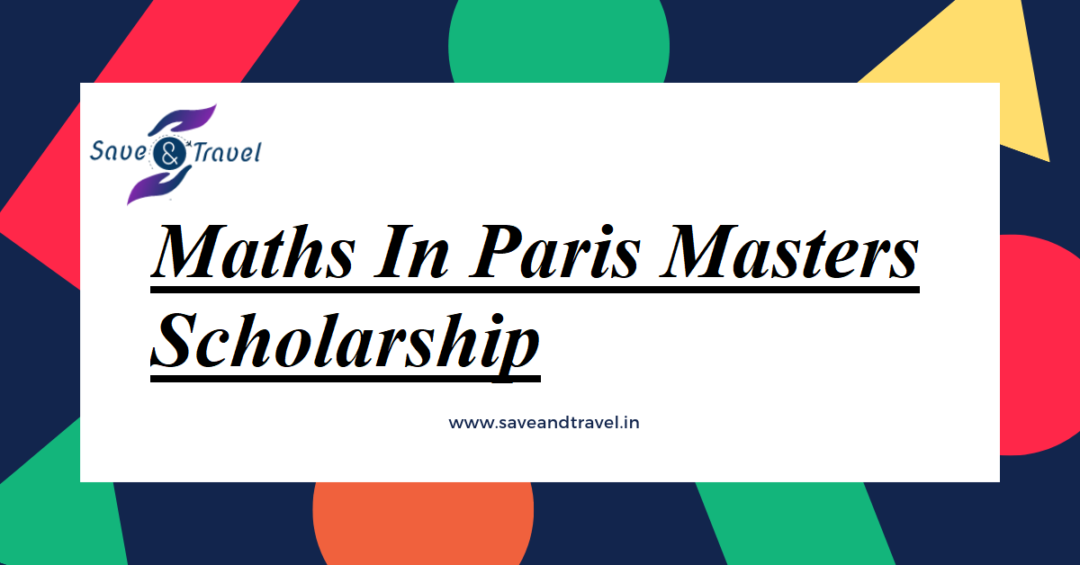Maths In Paris Masters Scholarship